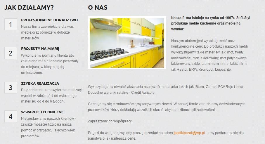 Produkcja Mebli Kuchennych Na Wymiar Produkcja Mebli Kuchennych Pod